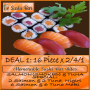 Dine In ADVOCATE DEAL 1 / 32 pieces @ R112: 16 Piece x 2/4/1 Salmon & Tuna Special