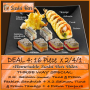 Dine In ADVOCATE DEAL 4 / 32 pieces @ R32 for this 2/4/1 deal.